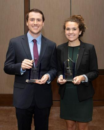 Dr. Andrew Lewin and Kathryn C. Taggart
